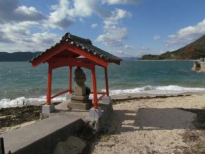 Shore of Setoda-cho, Onomichi-shi, Japan