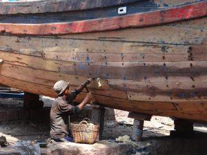 Vietnamese boatbuilding